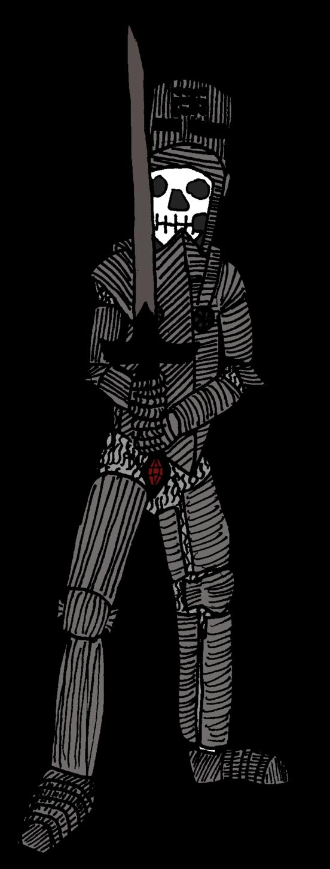 Undead knight by Ikhael