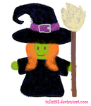Cute Witch (Day 29)