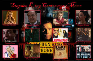 My Stephen King Controversy Meme by tultsi93