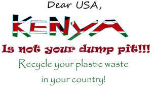 Country not a dungheap.