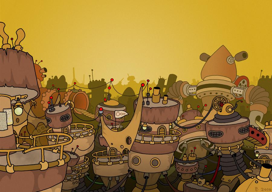 Slums by StoneRabbit