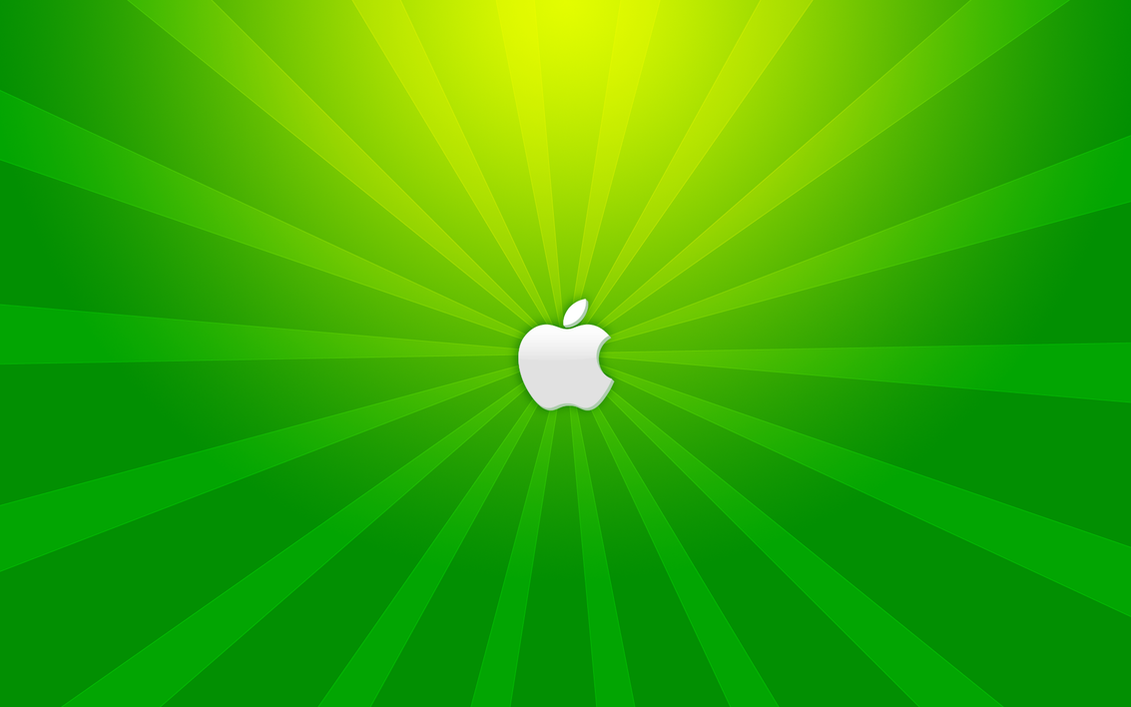 A Green Apple by yc