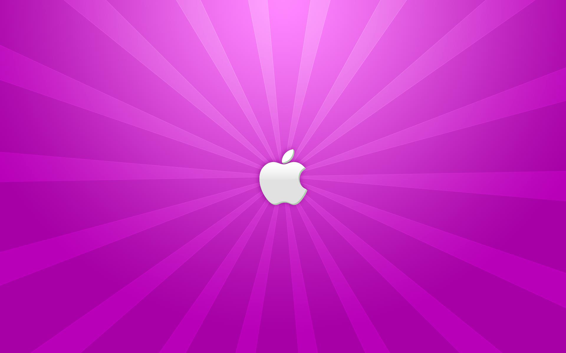 A Purple Apple