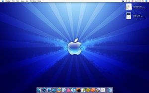 iMac November Desktop by yc