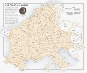 The Carolingian Empire at its Height