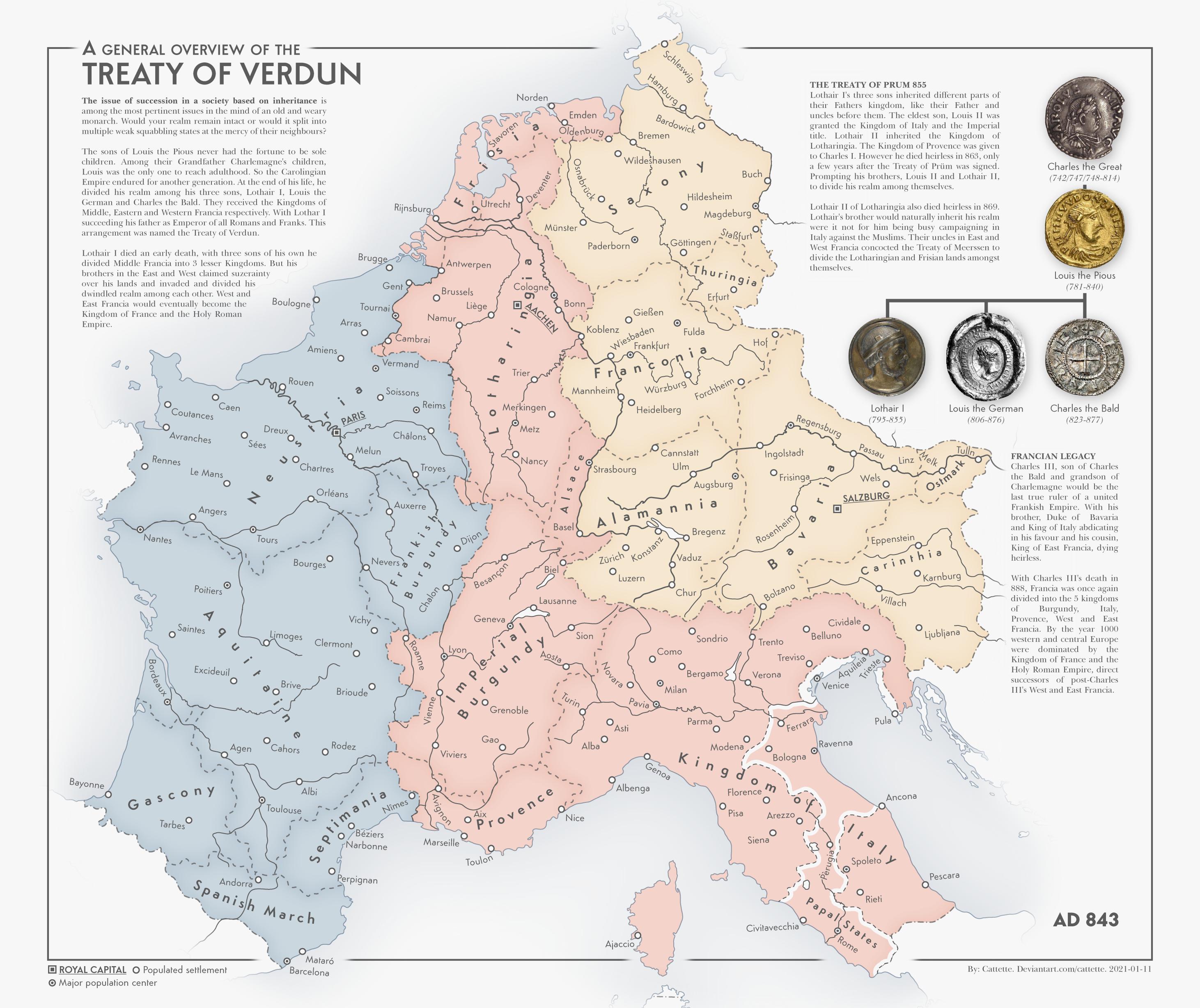 Treaty of Verdun 843