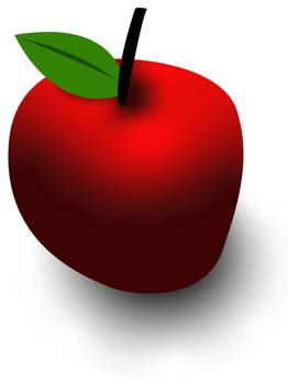 A lovely apple