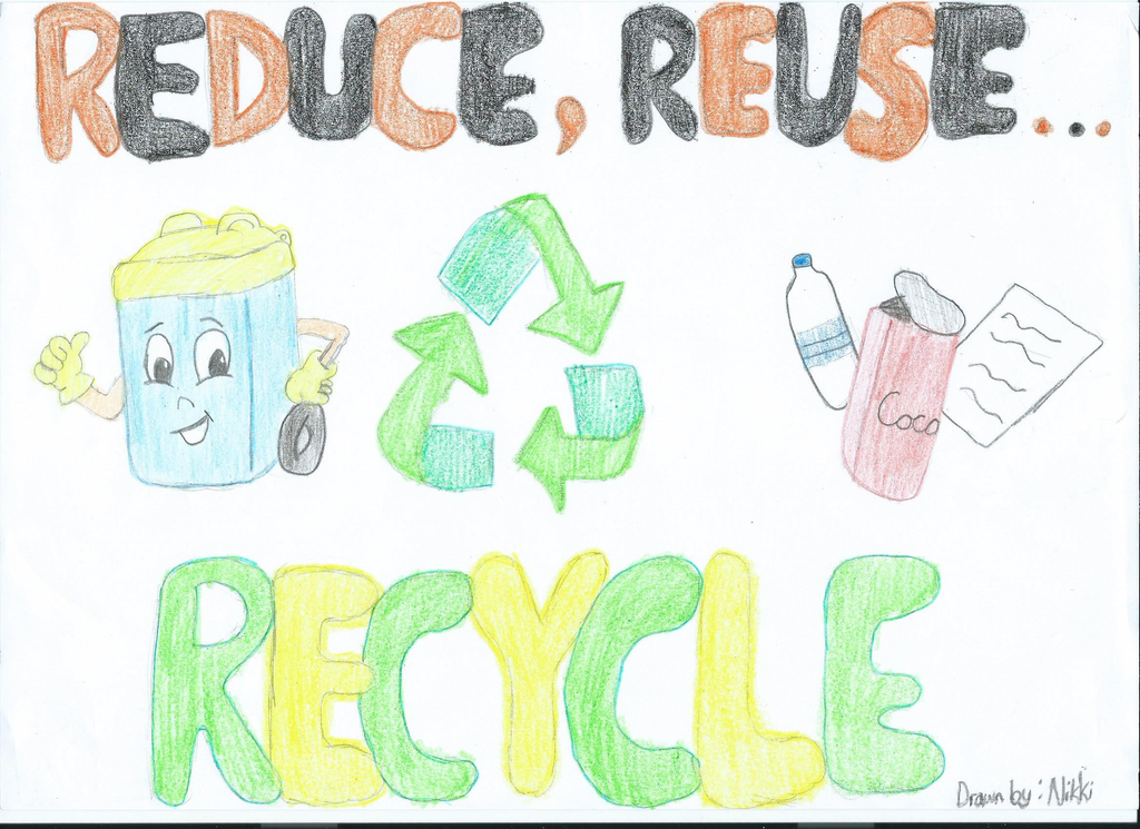 Reduce, reuse, recycle! by YellowHappyDay on DeviantArt