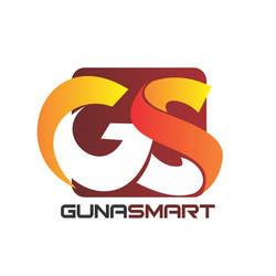 Desain Logo Bimbel Guna Smart by Pixelldesignlogo