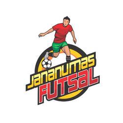 Desain Logo Maskot Futsal