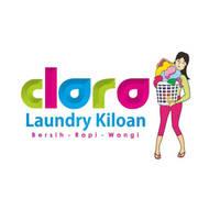Desain Logo Laundry Clara