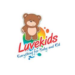 Desain Gambar Logo Maskot Luvekids
