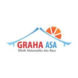 Desain Logo Bimbel Graha Asa