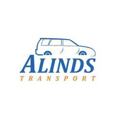 Desain Logo Rental Mobil Alinds Transport