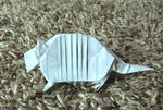 Origami Armadillo 2 by Hermit03