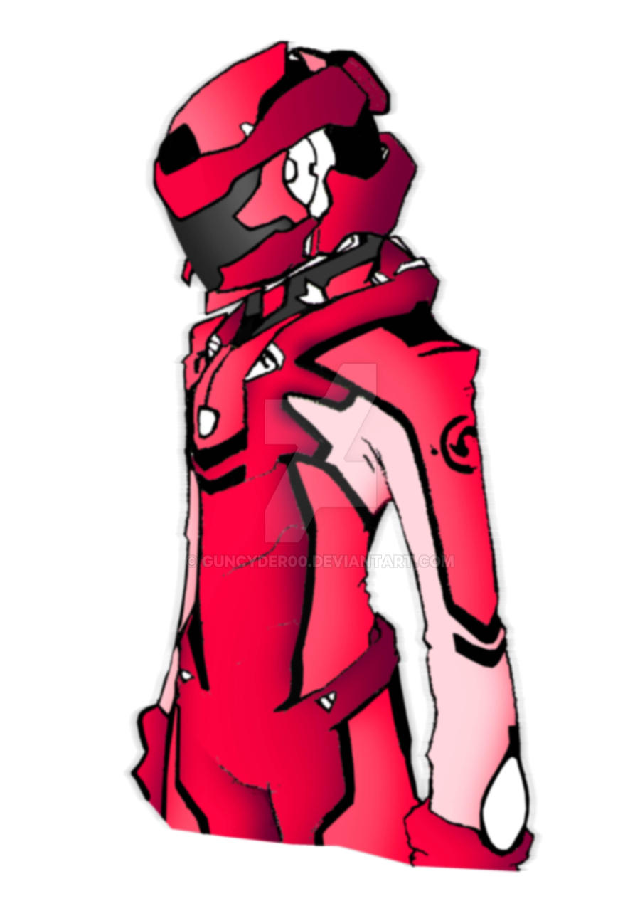 Battle Suit RED by Guncyder00