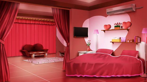 Love hotel room