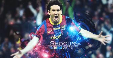 Messi the Best by Shogunzin