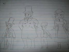 Oliver Twist Doodles