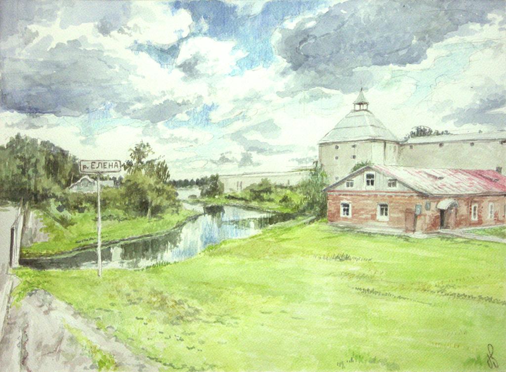 Staraya Ladoga by TheGreatMC