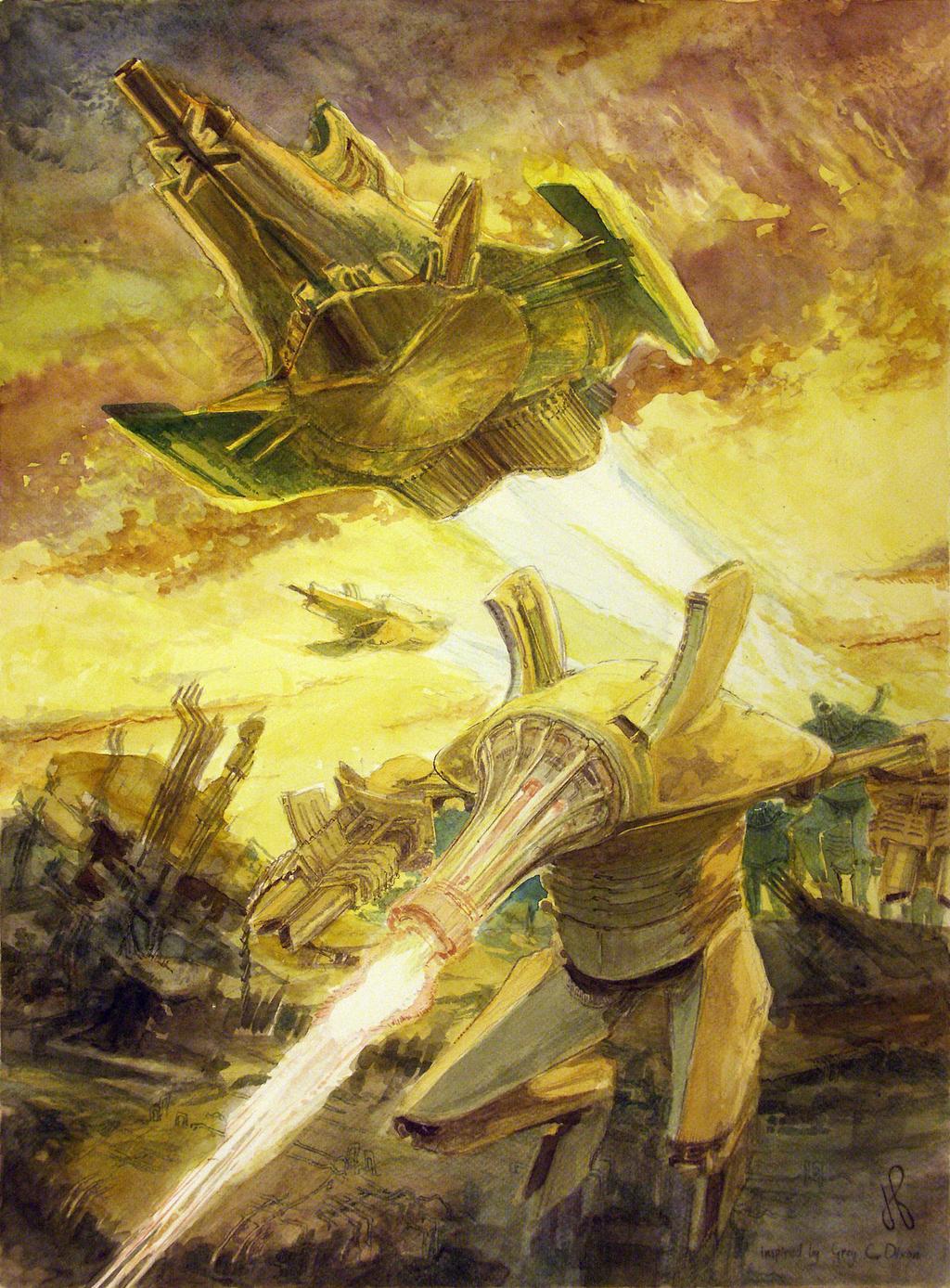 Category one ruin patrol by TheGreatMC