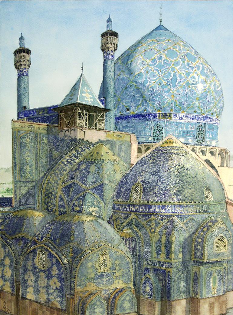 Masjid-i Imam, Isfahan by TheGreatMC