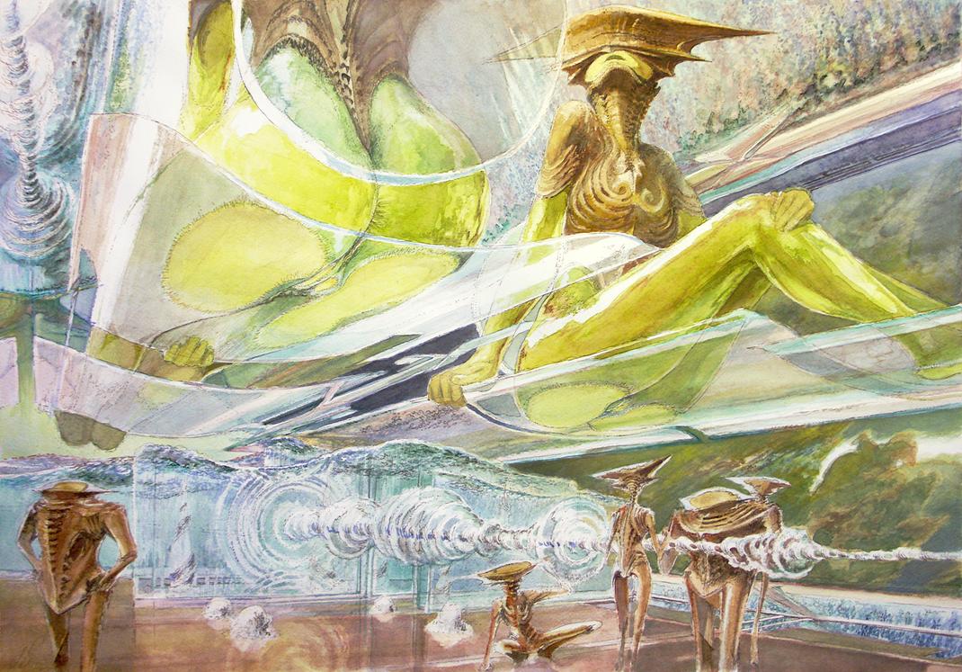 Primordial ocean by TheGreatMC