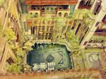 Sami Angawi house - inner courtyard