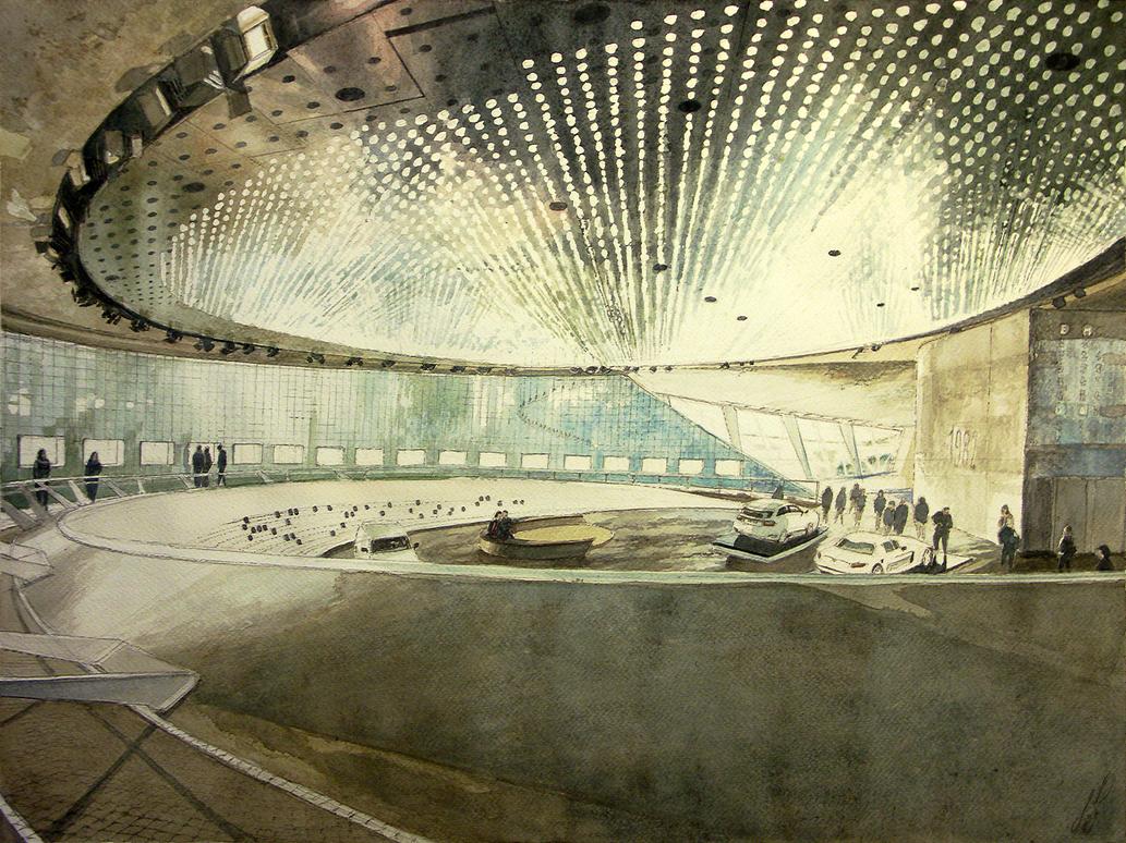 Mercedes-Benz Museum - Stuttgart by TheGreatMC