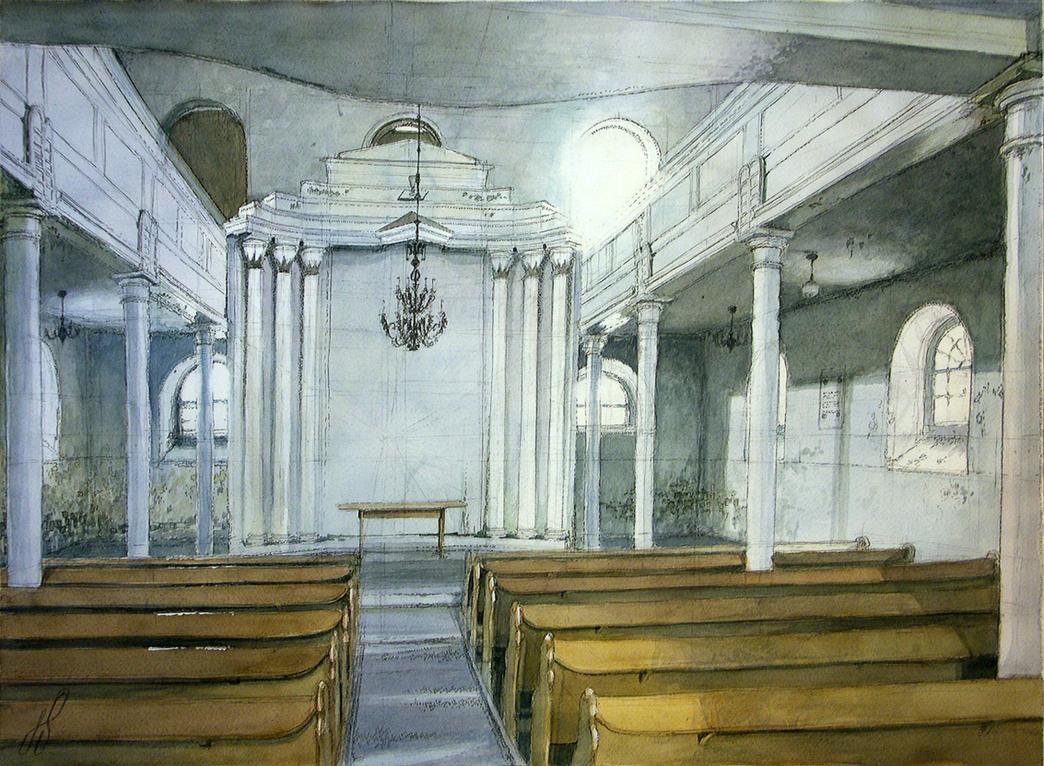 Holy Trinity church interior by TheGreatMC
