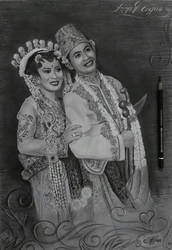 The wedding of javanese culture by dnadam