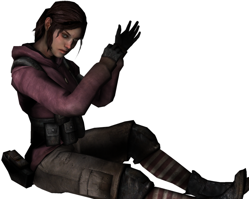 L4d zoey hot hardcore pink babe