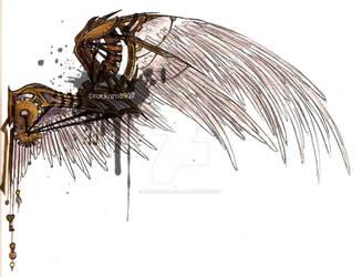 Steampunk Wings by rocknro8907