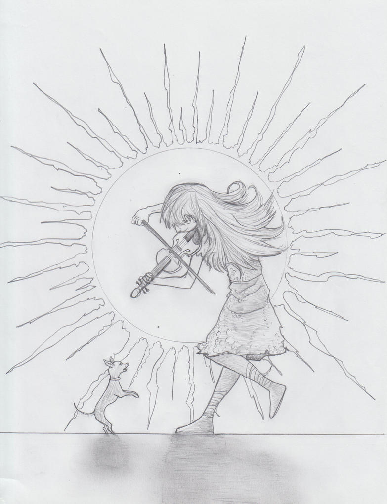 Lindsey Stirling and Luna Those Days full pencils by Formor
