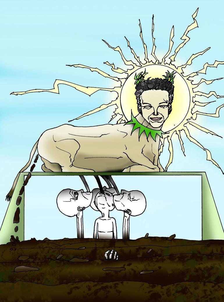 J.B.P. Bucko, The Sacred Cash Cow by Formor