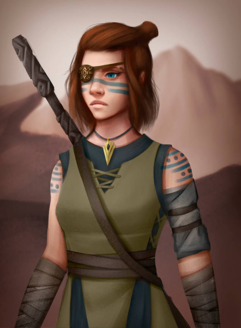 Retired Warrior by Bemacs on DeviantArt
