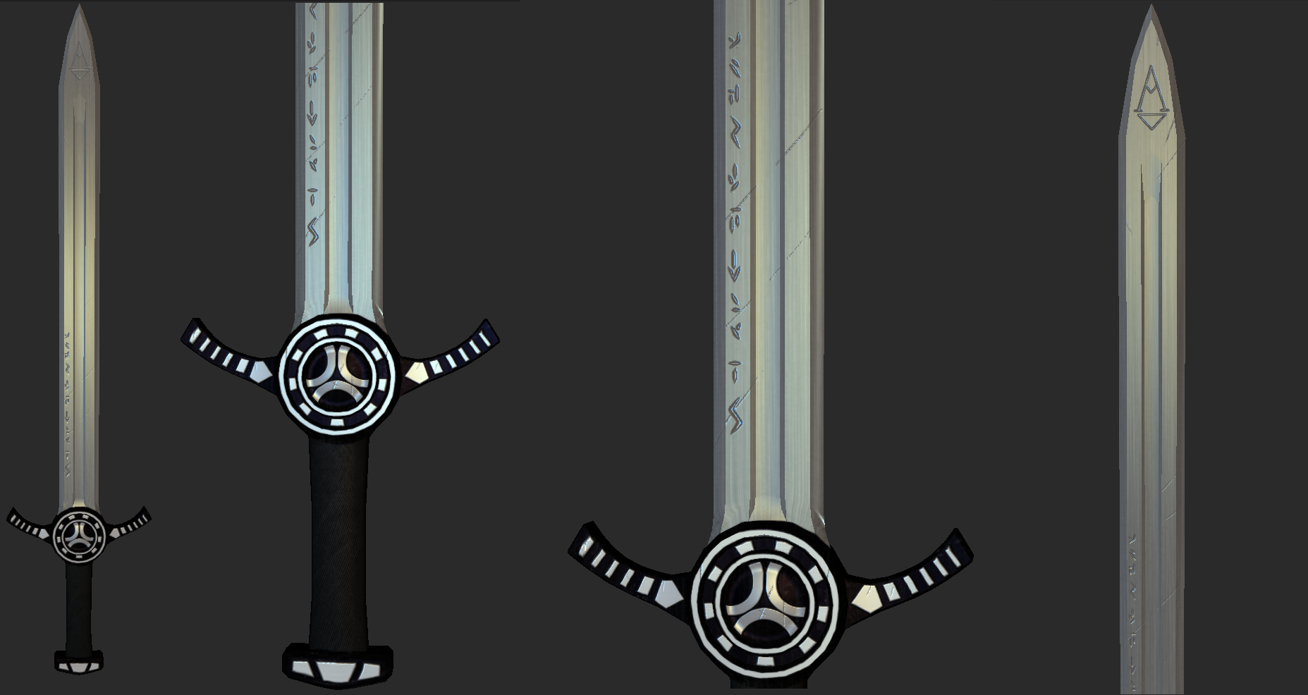 3D Sword Design by Alexander93 on DeviantArt: alexander93.deviantart.com/art/3D-Sword-Design-352905100