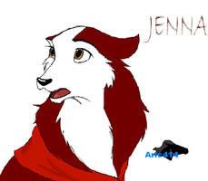 Jenna love by Aric414
