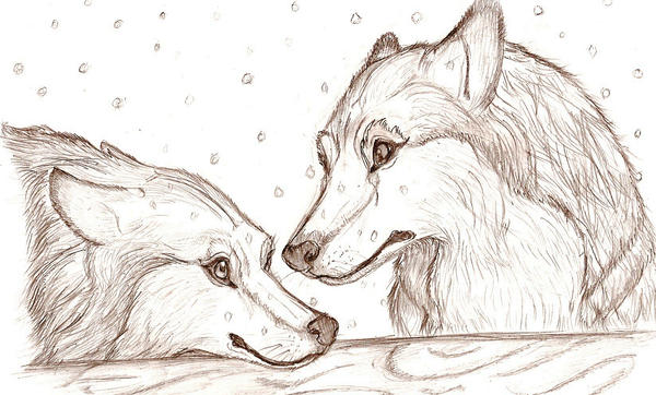 Wolf lust by Aric414