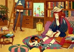 Reading by gtako