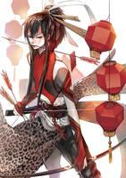 Chinese new year by gtako