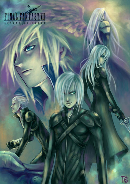 Final Fantasy VII by gtako