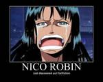 One Piece Robin Motivational 2