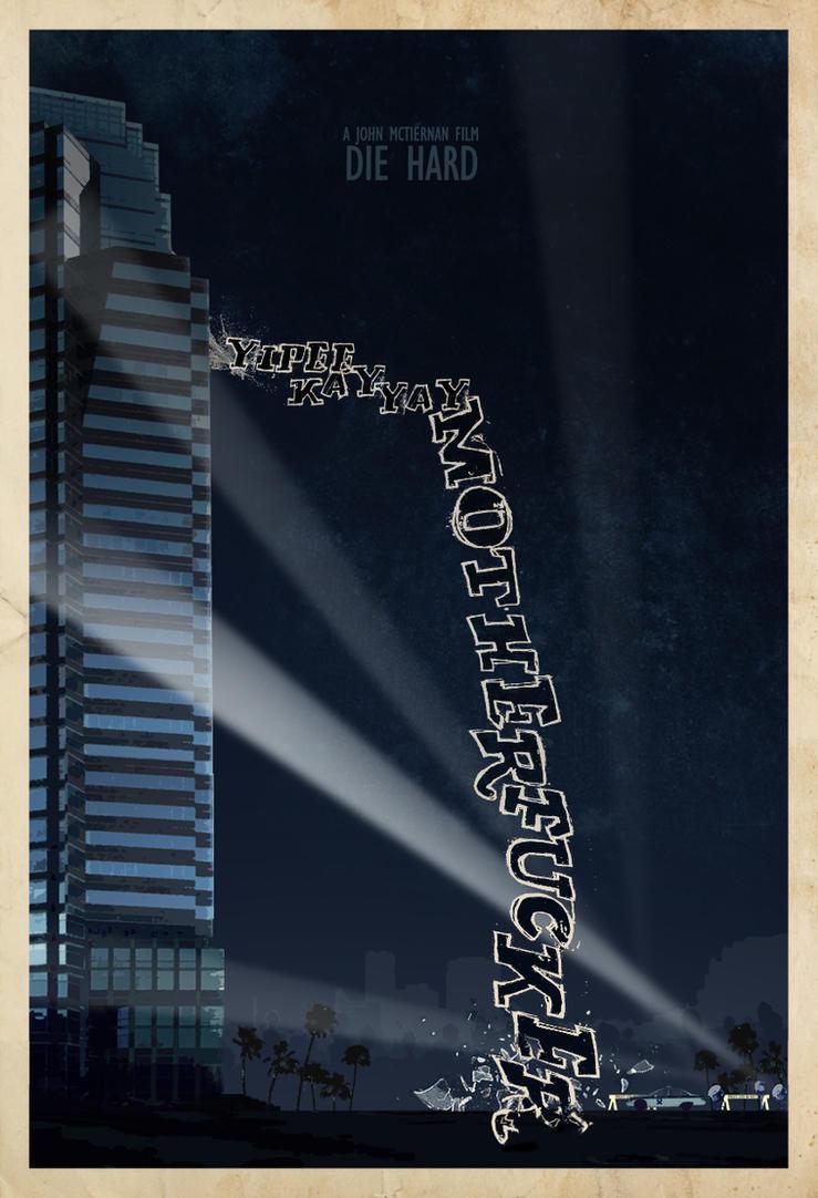 Die Hard custom Poster by edgarascensao