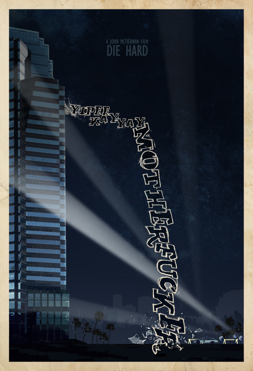 Die Hard custom Poster by edgarascensao on DeviantArt