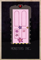 Movie-Doors-5 Monsters Inc. by edgarascensao