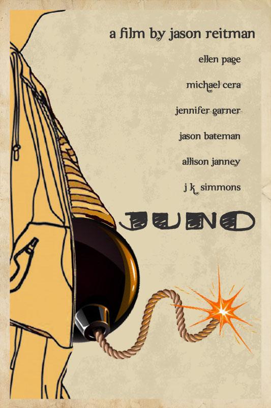 JUNO Poster by edgarascensao