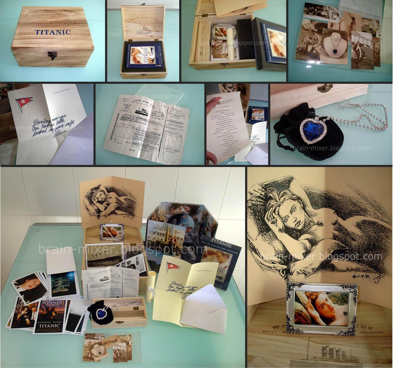 Titanic - Collector BOX by edgarascensao