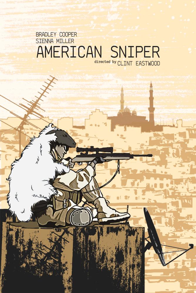 American Sniper by edgarascensao