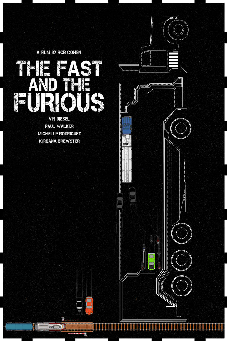 The Fast and The Furious - 2001 by edgarascensao